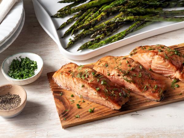 Dale's Cedar Planked Salmon