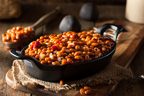 Dale's baked beans