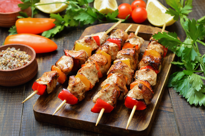 Dale's Grilled Chicken Kabob
