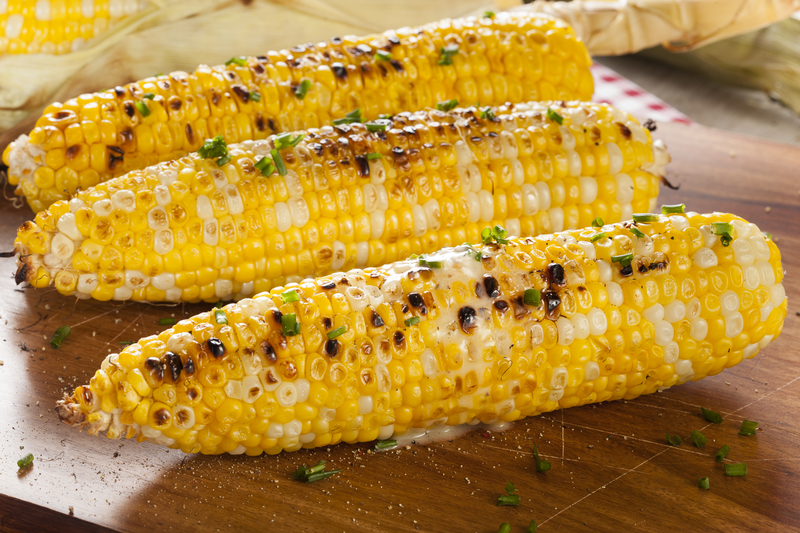 Grilled Corn made with Dale's