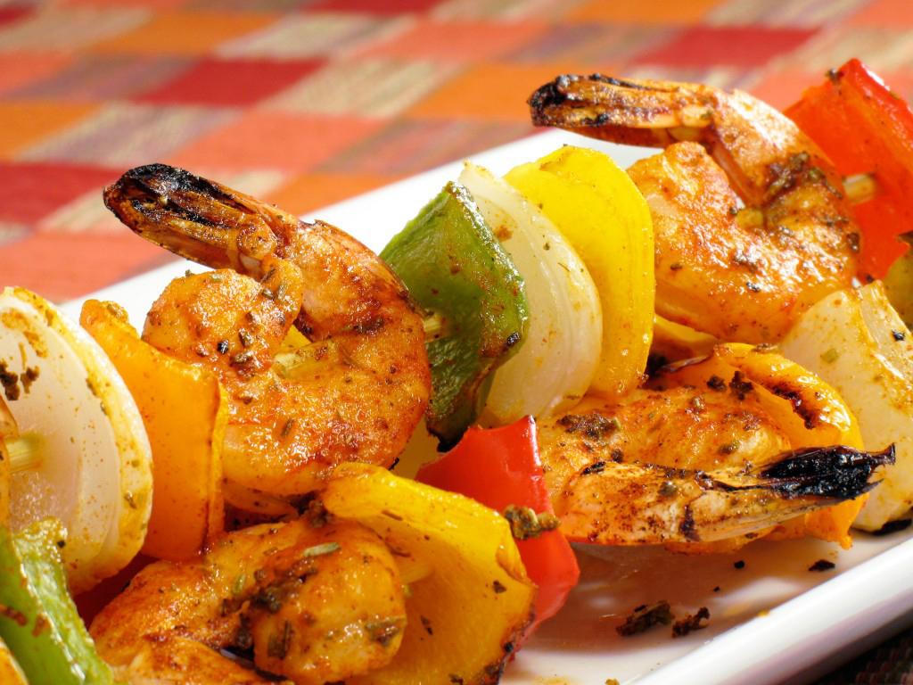 Shrimp Kabob with Dale's Seasoning